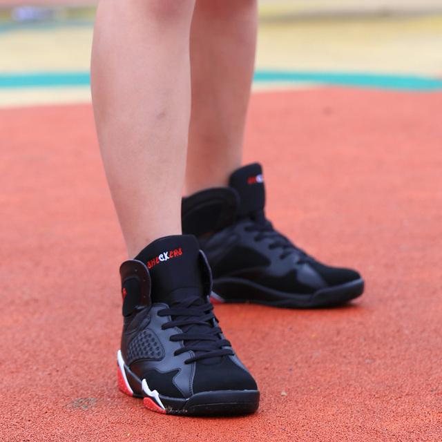 Couple Cushioning Jordan Retro Basketball Shoes Men's High-top Basketball Sneakers Boots Men Outdoor Size 45 Basket Shoes Unisex 1