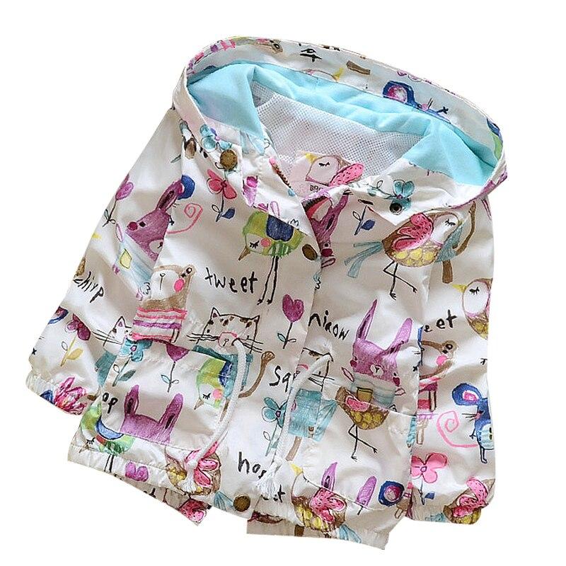 Menoea 2020 Marke Herbst Mode baby mädchen mäntel Jacken Giraffe Muster Baby Kleidung Cartoon punkte mit kapuze Kinder Oberbekleidung