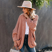Fitshinling Batwing Sleeve BOHO Knitted Cardigan Pockets Holiday Oversize Winter Coat Twist Loose Vintage Long Cardigans Women