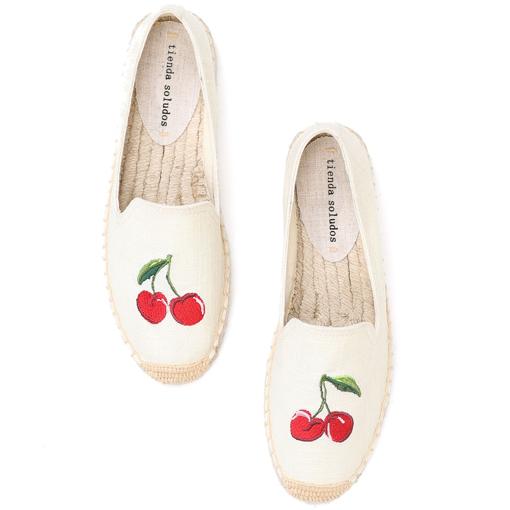 Espadrille Shoes Flats Fashion Ladies 2019 Sapatos Zapatillas Mujer Thick Bottom Girls Round Toe Casual Women's Flat Lazy's