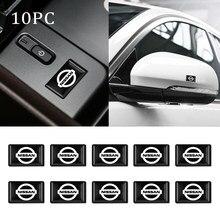 Pegatinas de estilo epoxi 3D para coche, calcomanías de decoración para NISSAN QASHQAI J10 J11 Tiida 2011 2008 2018 2019, accesorios para coche