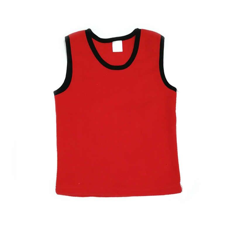אפוד צמר ילדים עבור בנות ילדים החורף חם חולצות תרמית אפוד עבור בני ילדה בגדי חורף ילד חזייה