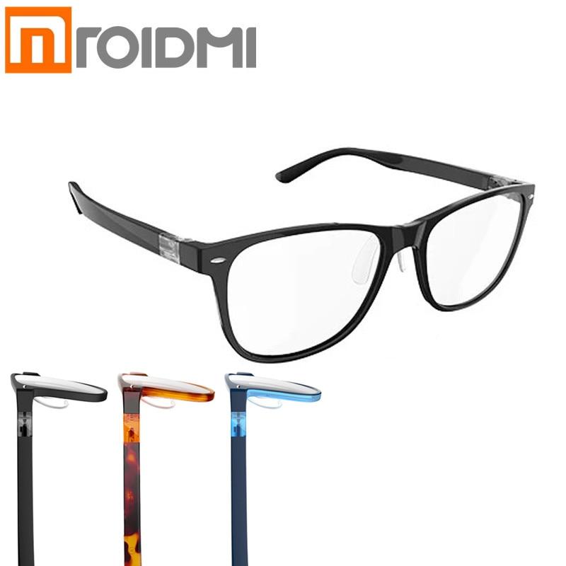 Xiaomi ROIDMI qukan B1/W1 Photochromic Anti Blue ray Proteger Óculos Destacável Anti-blue-raios Vidro De Proteção versão atualizada