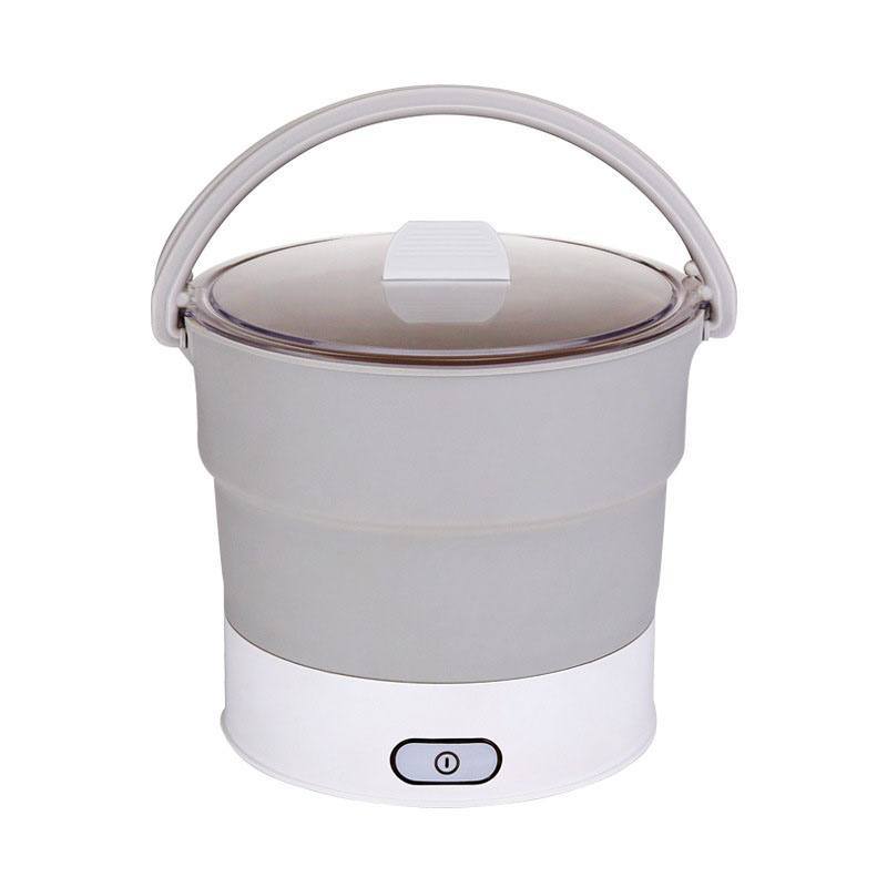folding electric hotpot food container and heated lunch box cooker portable
