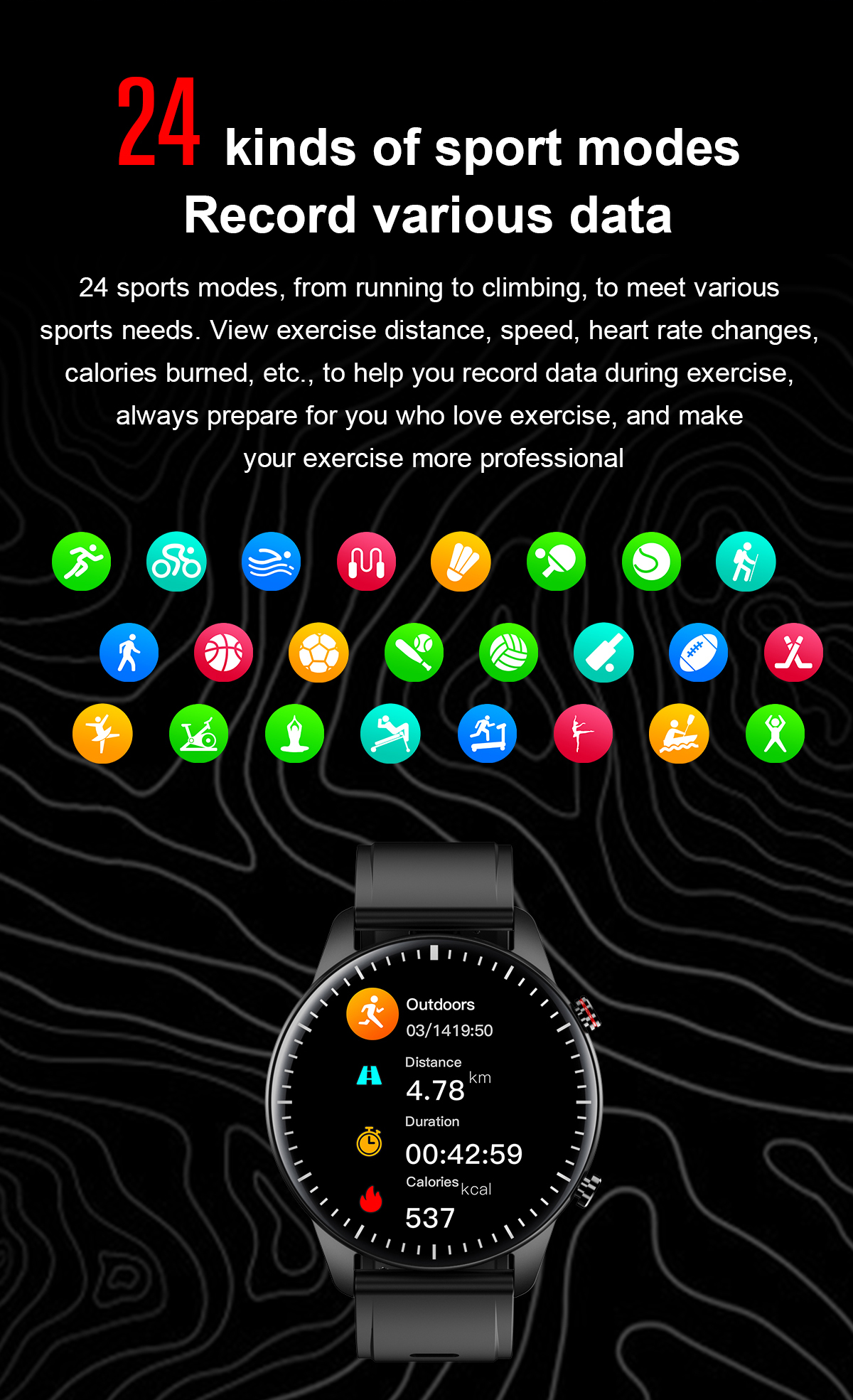 Hc8502534286445dcaff90db5e2eac59bS 2021 NEW Smart Watch Women Men Full Touch Fitness Tracker IP67 Waterproof Smartwatch For Android Xiaomi Redmi