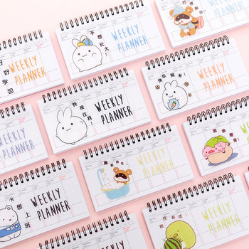 the success makers 2017 daily planner 2020 kawaii Coil book planner weekly planner Learn to start daily planning preparing for the exam work plan