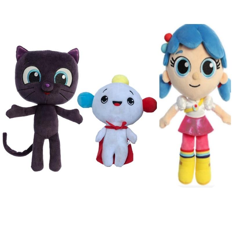 True and The Rainbow Kingdom Stuffed Plush Toy Bartleby Cat stuffed animal Kid Gifts