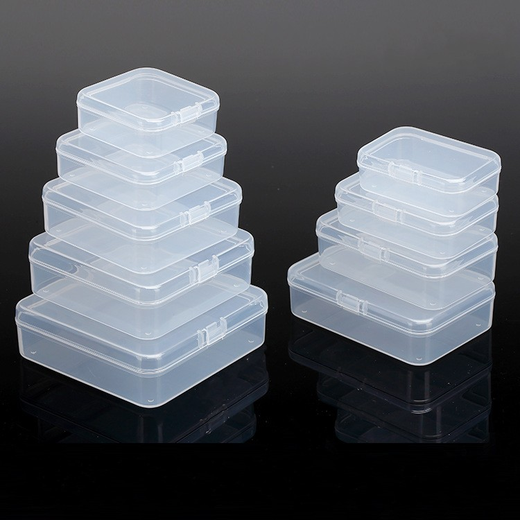 BalleenShiny al por mayor empaquetado caja pequeña caja de Chip de almacenamiento de plástico transparente pequeño producto PP Material caja de Gadgets de caramelo TINTON LIFE Bolsas de almacenamiento Bolsas de conserva de alimentos 12 + 15 + 20 + 25 + 28 cm * 500 cm 5 Rollos/Lot