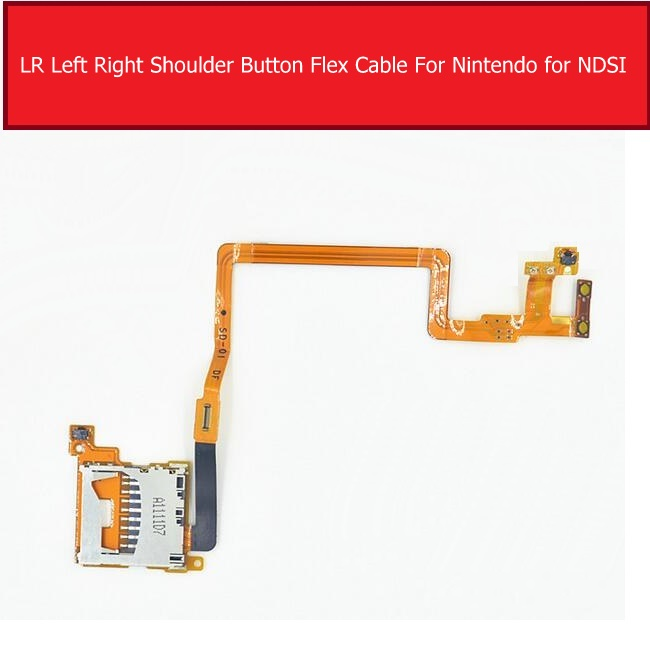 LR Left Right Shoulder Button Flex Cable For Nintendo Audio Control For Ndsi Tablet Replacement Repair Parts High Quality