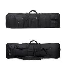 118 سنتيمتر بندقية الصيد التكتيكية تحمل الملحقات حقيبة ظهر تحمل على الكتف النايلون الحافظة الحقيبة متعددة الوظائف في الهواء الطلق الرياضة حقيبة