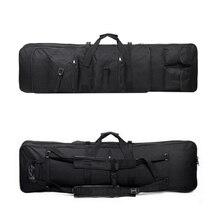 118cm 전술 사냥 총 캐리 액세서리 어깨 배낭 나일론 홀스터 파우치 다기능 야외 스포츠 가방