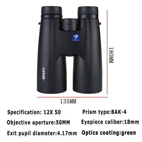 profissional binoculos 12x50 de alta potencia hd