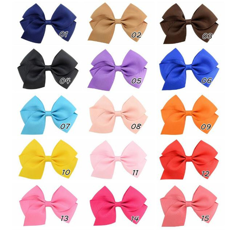 Girl's Bow Hair Clips Princess Hair Accessories, Party Hairstyle Cards