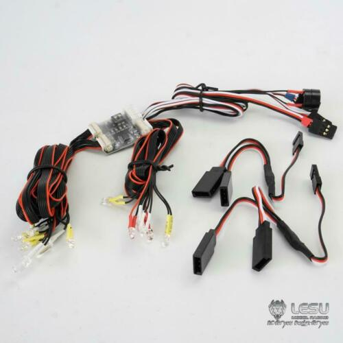 LESU LED <font><b>Light</b></font> System for 1/14 DIY RC Tmy Bz MAN Tractor <font><b>Truck</b></font> Car Dumper TH15098 image