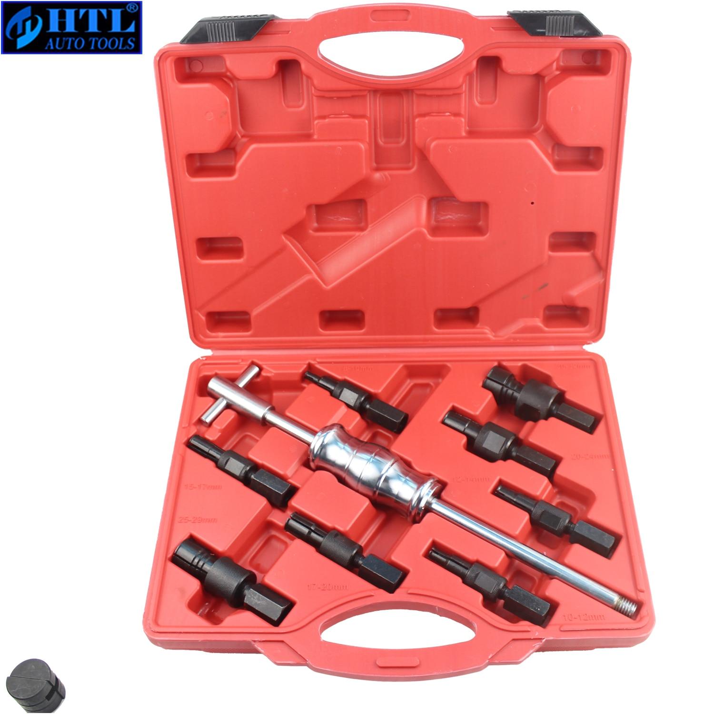9Pc Blind Hole Slide Hammer Pilot Bearing Puller Internal Extractor Removal Kit
