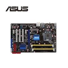 Soquete lga 775 para asus p5q se, original, desktop, para intel p45, placa mãe ddr2 usb2.0 sata2