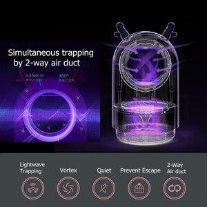 Image 4 - Лампа ловушка для насекомых, электрическая лампа ловушка против комаров, без шума, с USB