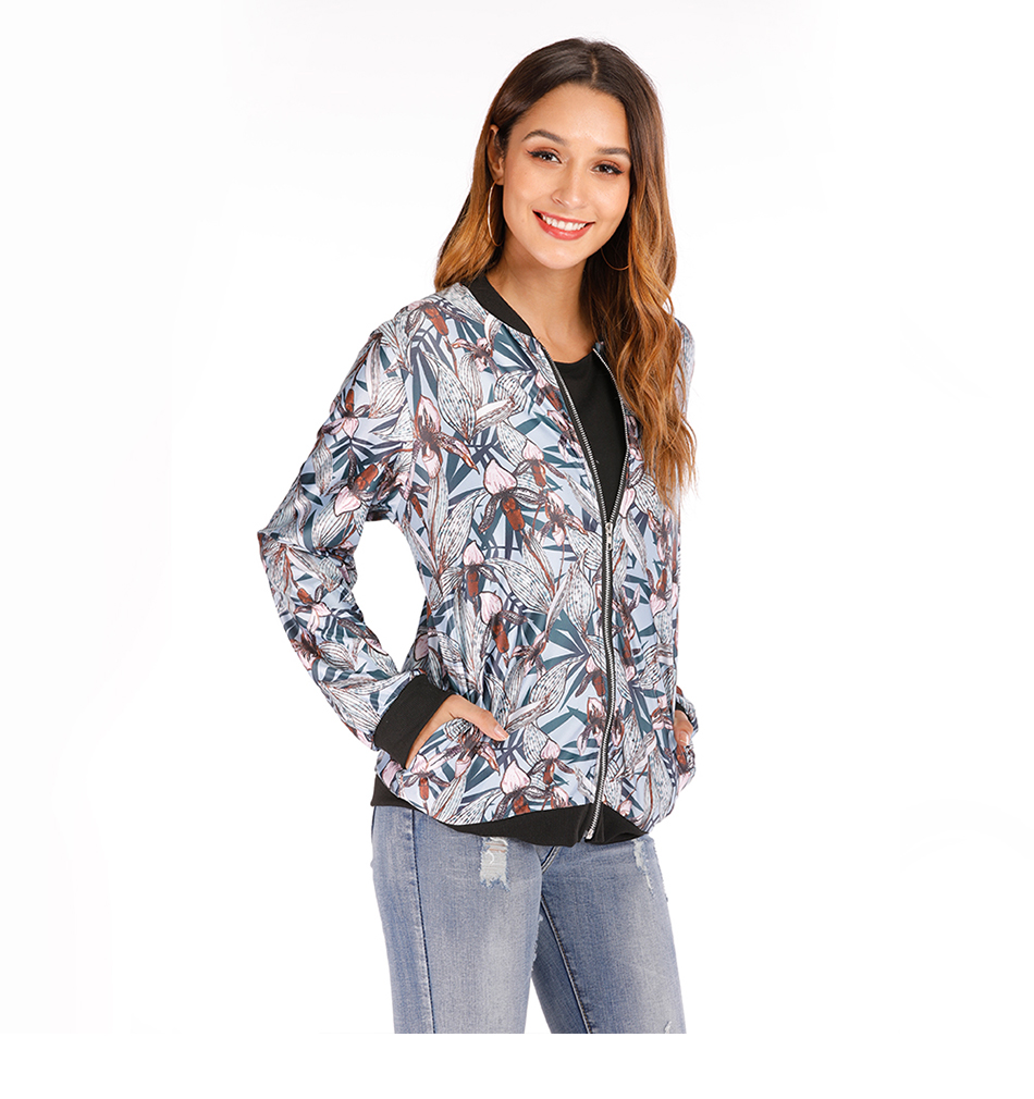 Hc851df22338d49eaa341a6e60d4cf8dbC Plus Size Spring Women's Jackets Retro Floral Printed Coat Female Long Sleeve Outwear Clothes Short Bomber Jacket Tops 5XL