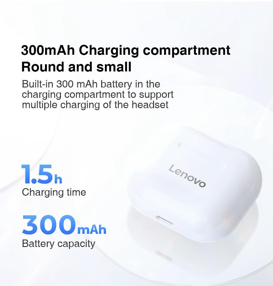 Lenovo LP40 TWS Wireless Bluetooth Earbuds 11