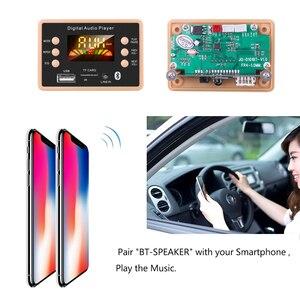 Image 5 - جديد MP3 فك فك لوحة تركيبية 12 فولت بلوتوث 5.0 سيارة USB مشغل MP3 WMA WAV دعم TF بطاقة USB FM لوحة تركيبية عن بعد