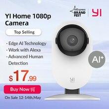 YI – caméra de surveillance intelligente Ip 1080p Wifi, dispositif de sécurité domestique, avec détection de mouvement, pour animaux de compagnie, chats et chiens