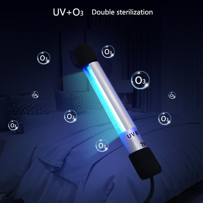 Hand-held Portable Ultraviolet UV Sterilizer Light Tube Bulb Disinfection Bactericidal Lamp Ozone Sterilizer Mites Lights 5w/9w