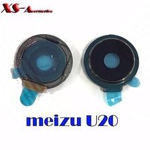 original New back rear camera lens + ring holder frame for Meizu U20