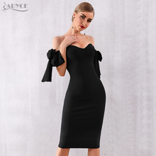 Black Bodycon Dress Bandage