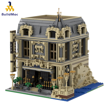 Buildmoc Worlds Famous Architecture Urban Street View The Lounge 10253 Big Ben Alternate of London Building Blocks Kids Toy Gif