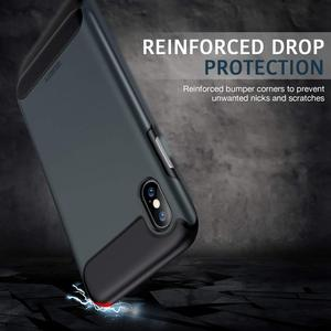 Image 5 - ESR Rambler Rugged Heavy Duty Case for iPhone X/XS/XR/XS Max Bumper Armor Case 360 Protective Shock Absorbing TPU Cover XS Case