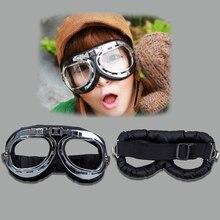 цена на Steampunk Motorbike Goggles with Smoke Lenses