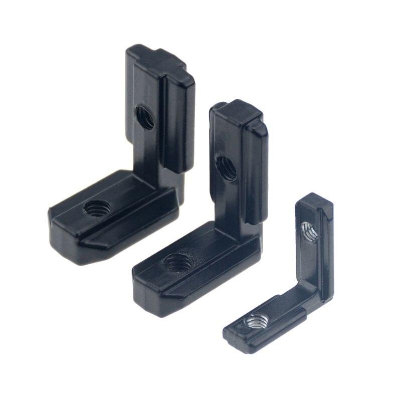 4 Size Optional L Shape Connector Corner Angle Bracket Connection Joint Bracket