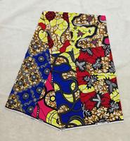 6Yards/pc Fashionable colorful printed wax fabric african batik cotton wax fabric for clothes WS10