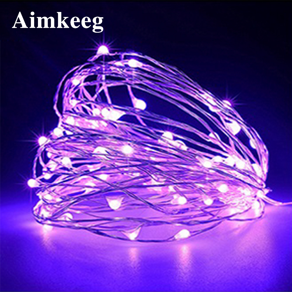 Christmas Lights Copper Wire LED Wine Bottle Fairy String Light 1M 2M 3M 5M 10M Party Wedding Decorations For Home Room Garland