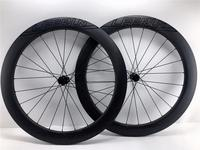 Ultralight Carbon road bike 700c Wheels clincher disc hubs 38mm 50mm 60mm Full Carbon Wheelset 12*100 12*142mm