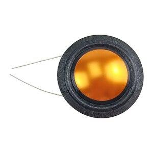 Image 4 - Ghxamp 25,9mm 4ohm Hochtöner schwingspule Seide + Titan Membran Höhen Reparatur Teile Gleichen Seite Runde Kupfer Draht 1 pairs
