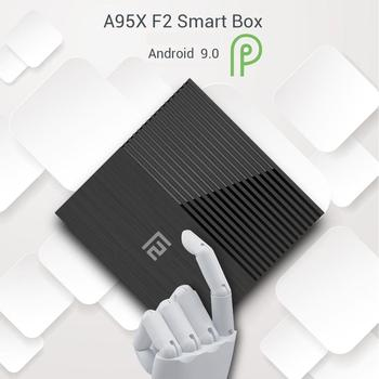 XODY Android TV BOX 9.0 4GB RAM 32GB 64GM ROM Quad Core Amlogic S905X2 2.4G 5G Wifi 4K Ultra HD A95X F2 Smart TV Box