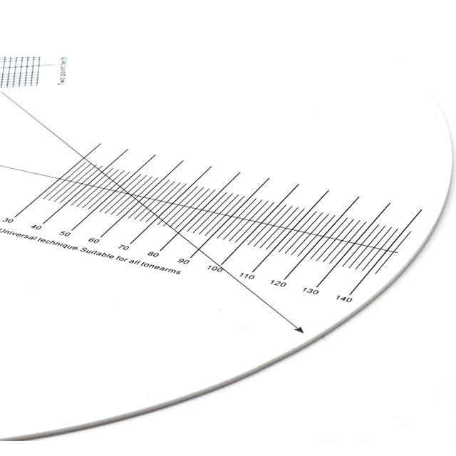 Monosaudio LP Vinyl Pickup Kalibrierung Abstand Gauge Winkelmesser Einstellung Werkzeug Einstellung Herrscher Plattenspieler Zubehör