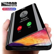 Mirror Flip View Case For Oneplus 7T Pro