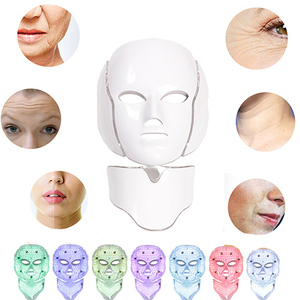 Image 2 - Led Mask Face Facial Mask 5 Types 7 Colors Electric Machine Light Therapy Acne Mask Neck Led Mask Beauty Led Photon Therap