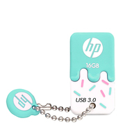 HP Unidade Flash USB 16 X778W GB/32 GB/64 GB Sorvete Cle USB3.0 Silicone Memory Stick pen Drive Polegar Pendrive U Disco Em Chave Motorista