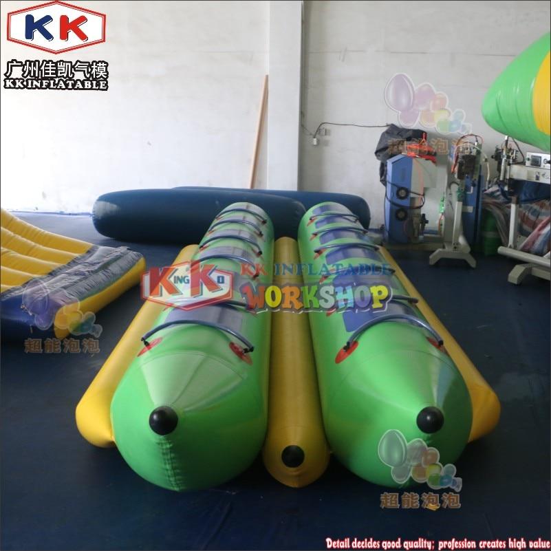 12 Seats Banana Boat Factory Price Water Sport Inflatable Sea Banana Boat