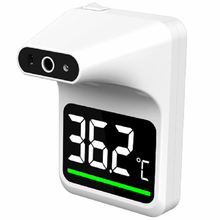 Wall Mounted non contact infrared forehead thermometer infrared digital non contact forehead thermometer