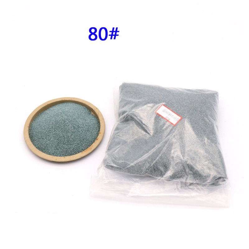400g Green Silicon Carbide Stone Sandblasting Machine Precision Polishing Hardware Glass Lamps Polishing Powder 46-2000mesh