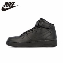Nike Air Force AF1 Official Breathable Men's Skateboarding Shoes Sports Sneakers  High Flat Breathable Shoes цена в Москве и Питере