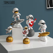 TANGCHAO – figurine d'astronaute créative, décoration d'intérieur, Sculpture d'astronaute en résine, décoration de salon