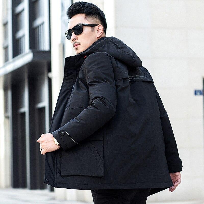 2020 White Duck Down Jacket Men Korean Short Winter Coat Men Puffer Jacket Men Down Coat Warm Parka Abrigo 2023 YY1461