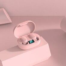 Fluxmobe6s nuovo E6S Smart Display digitale auricolare Bluetooth Wireless Mini HIFI auricolare Stereo in Ear auricolare sportivo impermeabile