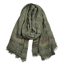 Luxury Men's Scarf Winter Autumn Male High Quality Casual Scarves 190*90cm Stripes Warm Soft Modal Scarfs Tippet Accessory