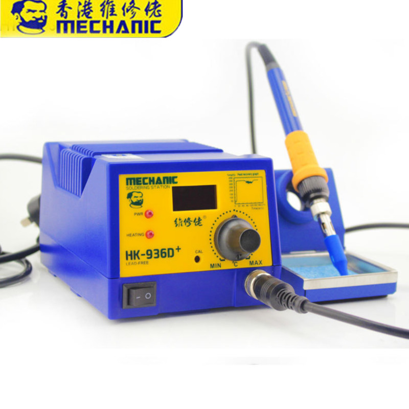 12 Sets MECHANIC HK-936D+ Soldering Station Constant Temperature Controller Digital Display Electric Welding Tool Sets